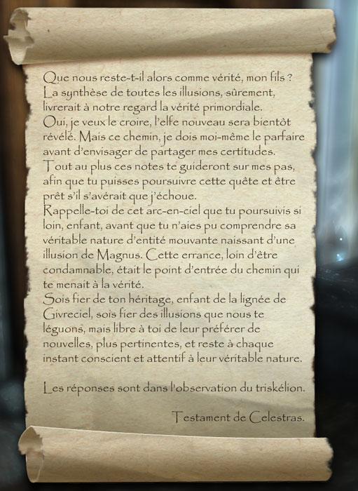 La Ligue d'Eton Nir et le Manoir de Givreciel Testam11