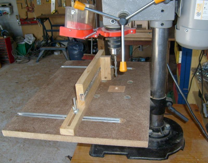 Réalisation d'accessoires pour outils stationaires bas de gamme S6300711
