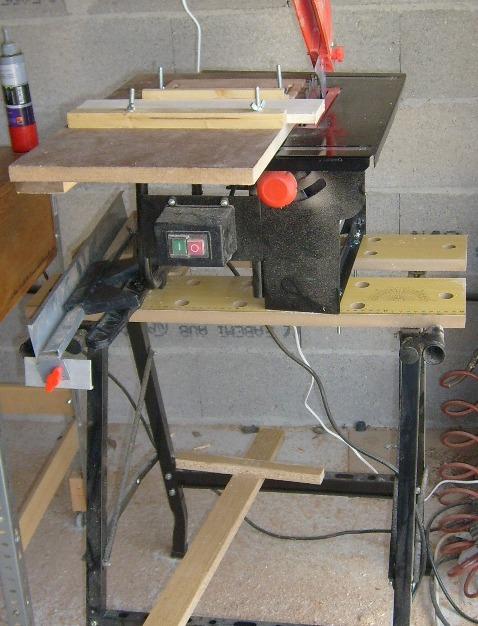 Réalisation d'accessoires pour outils stationaires bas de gamme S6300712