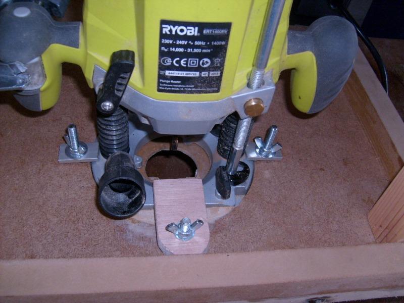 Réalisation d'accessoires pour outils stationaires bas de gamme S6300736