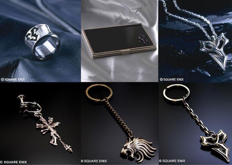 les goodies officiels final fantasy   Bijoux10