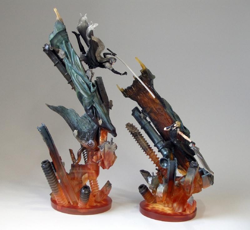 Figurine Final Fantasy 7 renseignements débutant Ffviia11