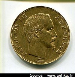 50 Francs Napoleon III tête nue 4076810