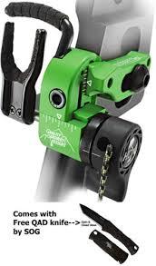 Vapor Trail-Limb Driver Pro V ARROW Rest-droitier-Noir et
