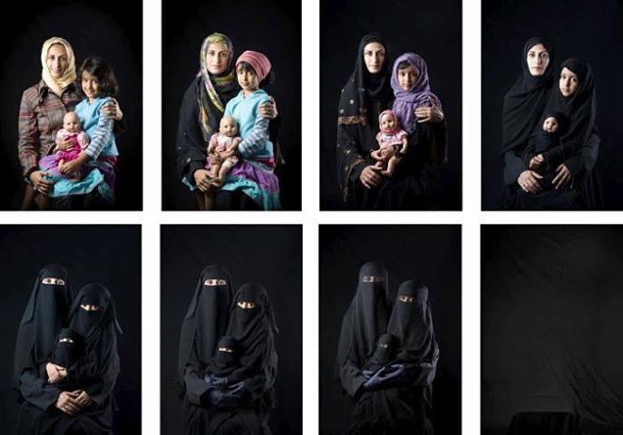 Questions aux femmes qui portent le voile 13832112