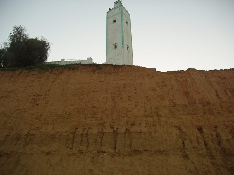 أشغال الخط الطرقي الجديد بحد الغربية تهدد مسجد الخلوة 18887210