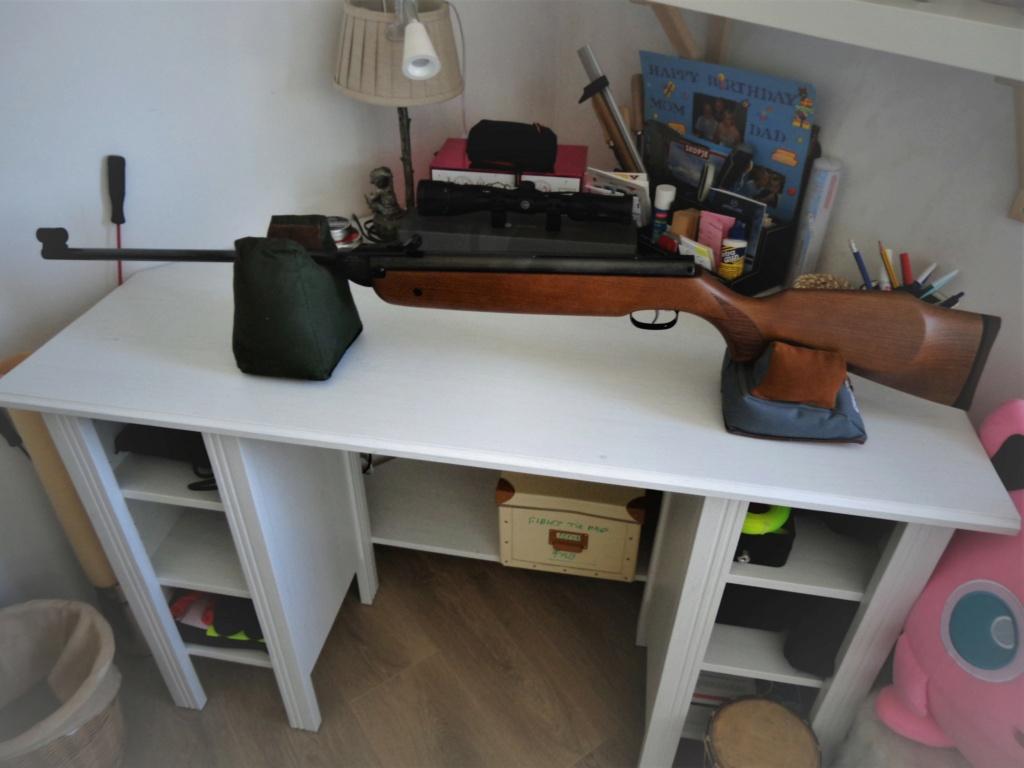 Reçu une grosse teutonne en calibre 5.5 le cheval de trait de chez Weihrauch Dsc01979