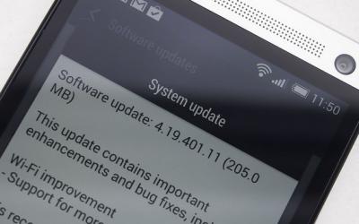 La mise à Jour Kitkat pour le HTC ONE (M7) est repartie Captur10