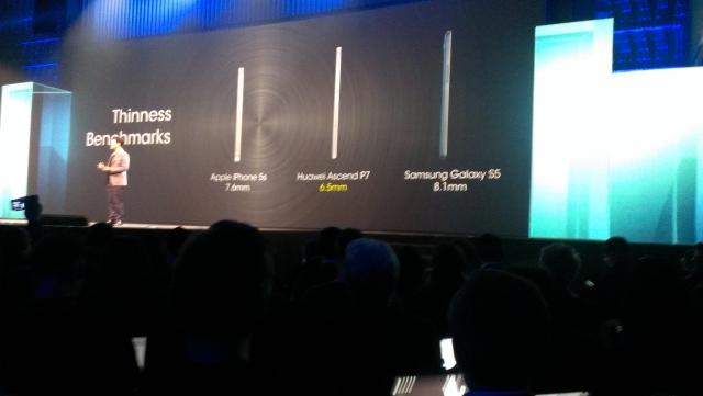 Présentation Officielle du Huawei Ascend P7 Finess10