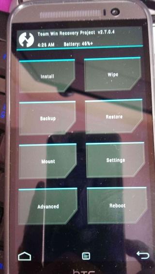 [TUTO] Installer un recovery custom sur le HTC DESIRE 820 Imag0511