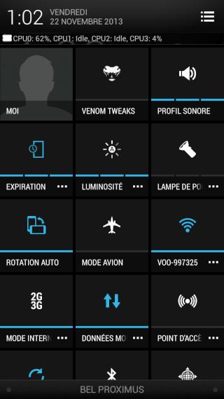 [ROM JB 4.2.2/SENSE5] 05/06 Team Venom ViperX 4.1.1 - welcome to the future- HTC ONE X Screen72