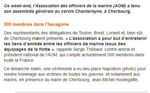 [ Associations anciens Marins ] AOM (ASSOCIATION DES ANCIENS OFFICIERS DE LA MARINE) Aom110