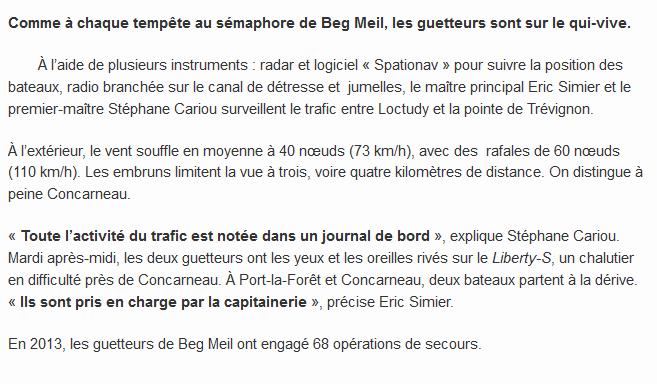 SÉMAPHORE - BEG MEIL (FINISTÈRE) - Page 5 Beg110