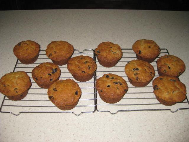 Muffins  aux pruneaux Muffin10