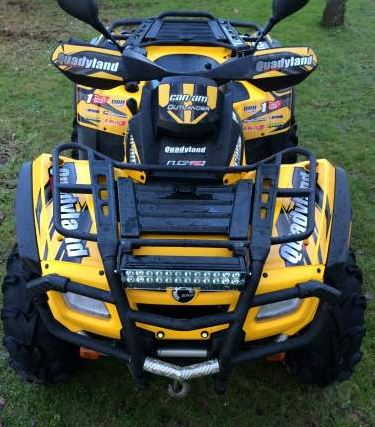 [ A Vendre Quad Can Am Outlander 800 xt] - Page 2 Captur12