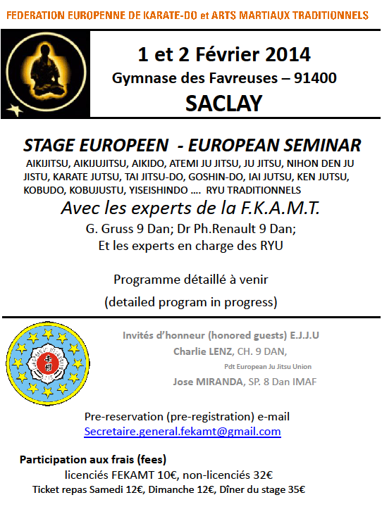 Stage FEKAMT à Sarclay le 1 et 2 février 2014 Stage_10