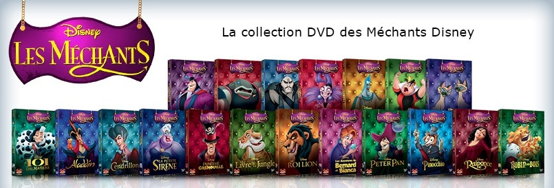 [Rééditions DVD] La Collection des Méchants Disney Machan10