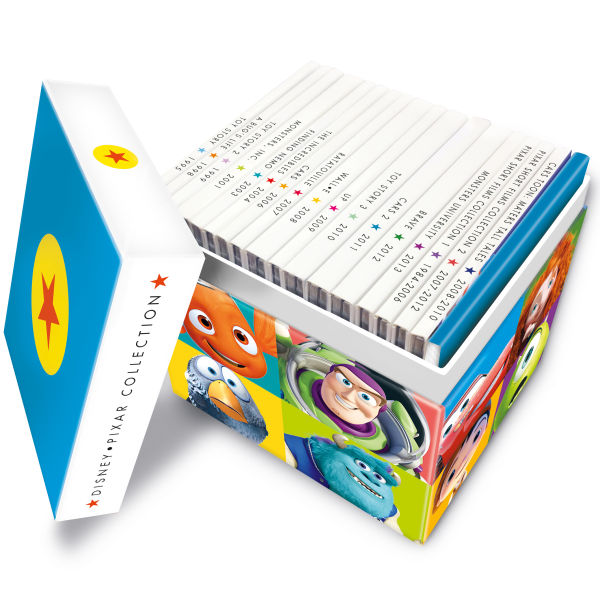 [BD] Coffret Collection Pixar (11 novembre 2013 au Royaume-Uni) Pixar_11