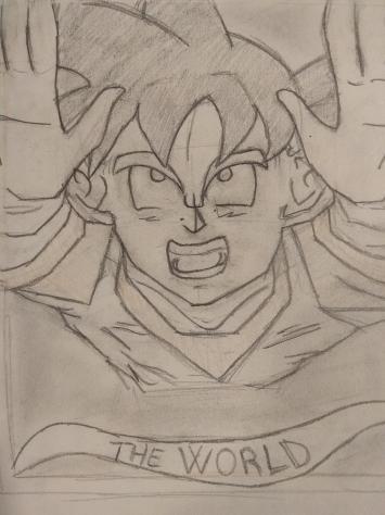 Cartes de tarot version RPGDBZ   Goku10