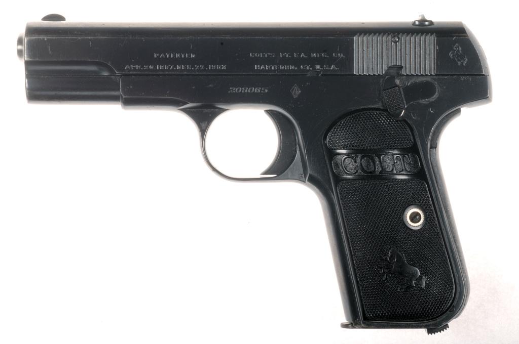 COLT 1903 pocket hammerless  _dsc5010