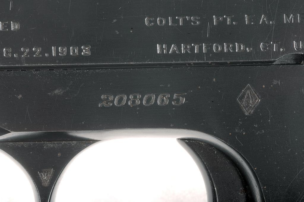 COLT 1903 pocket hammerless  _dsc5012
