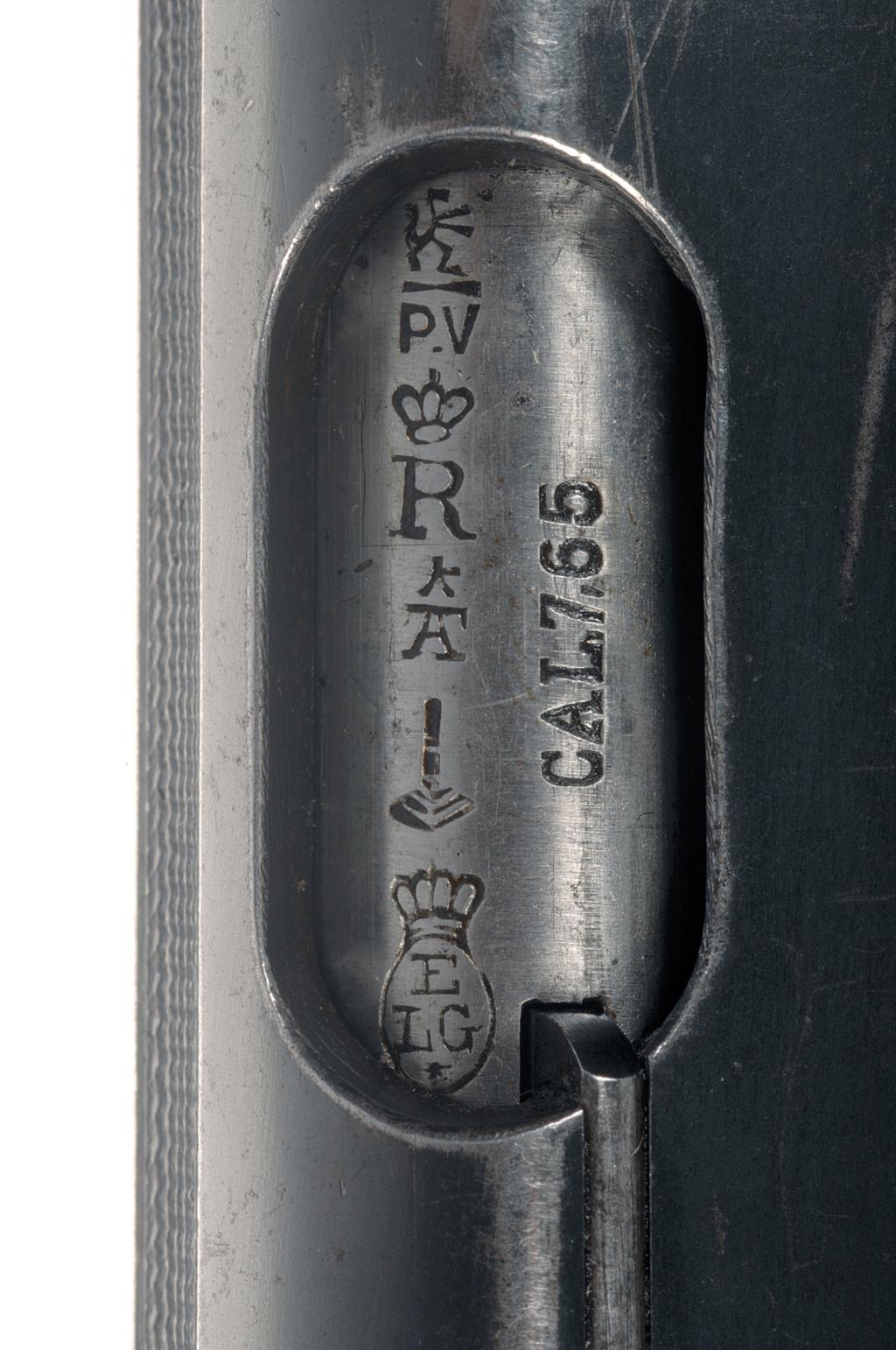 Identification BROWNING 1910 _dsc5013
