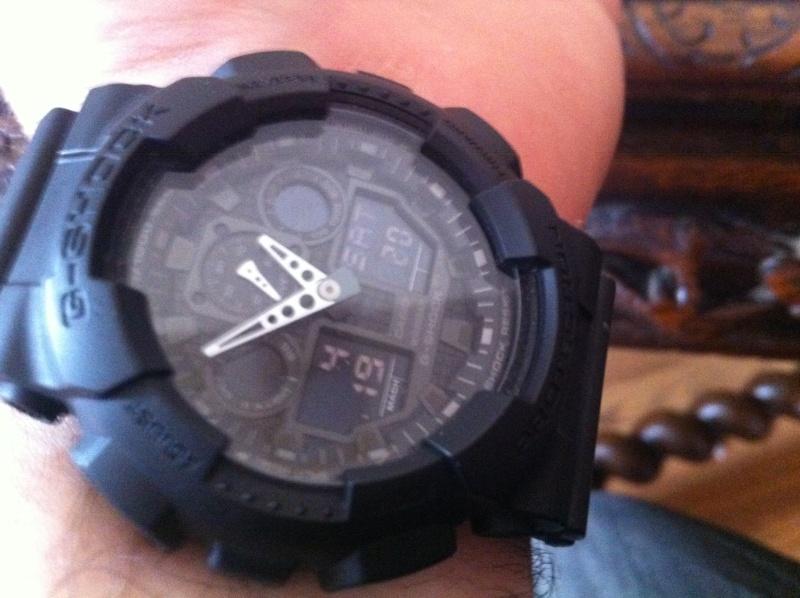 G-Shock All Black Photo13