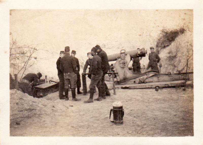 Photos de Cormicy et des environs : le canal, La Neuville et Sapigneul (entre 1914 et 1915) 155cou10