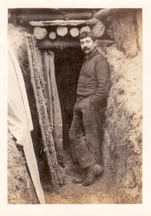 Photos de Cormicy et des environs : le canal, La Neuville et Sapigneul (entre 1914 et 1915) Artill10