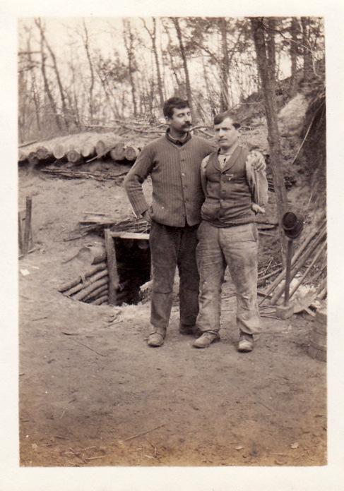 Photos de Cormicy et des environs : le canal, La Neuville et Sapigneul (entre 1914 et 1915) Artill11