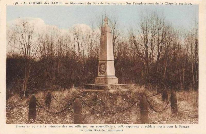 Vestiges Bois de Beaumarais - (Craonne) Beauma12