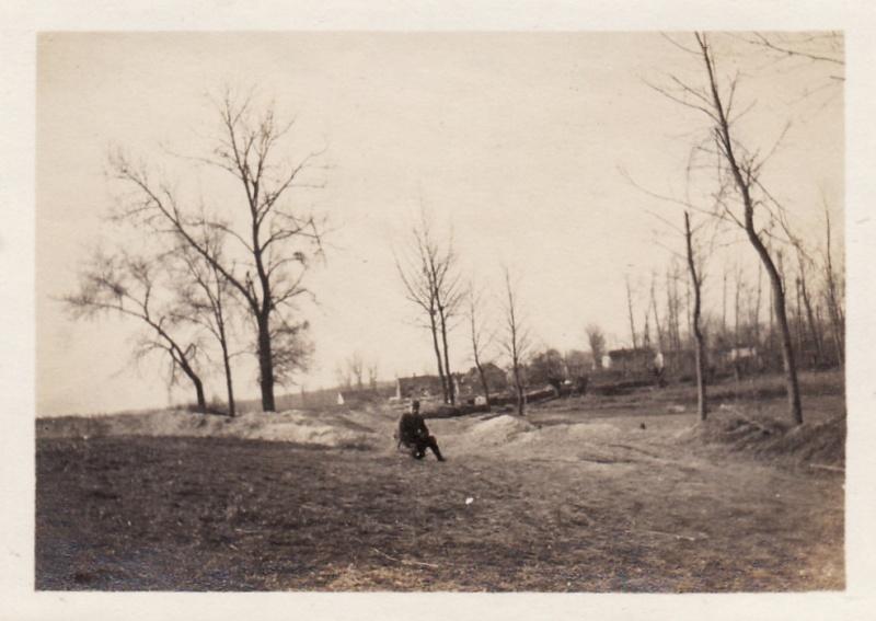 Photos de Cormicy et des environs : le canal, La Neuville et Sapigneul (entre 1914 et 1915) Boyau-10