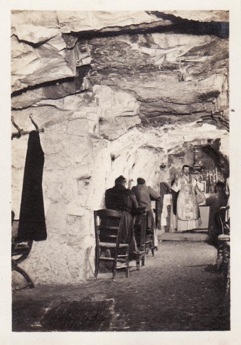 Photos de Cormicy et des environs : le canal, La Neuville et Sapigneul (entre 1914 et 1915) Cave-m11