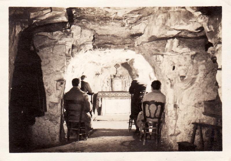 Photos de Cormicy et des environs : le canal, La Neuville et Sapigneul (entre 1914 et 1915) Cave-m12