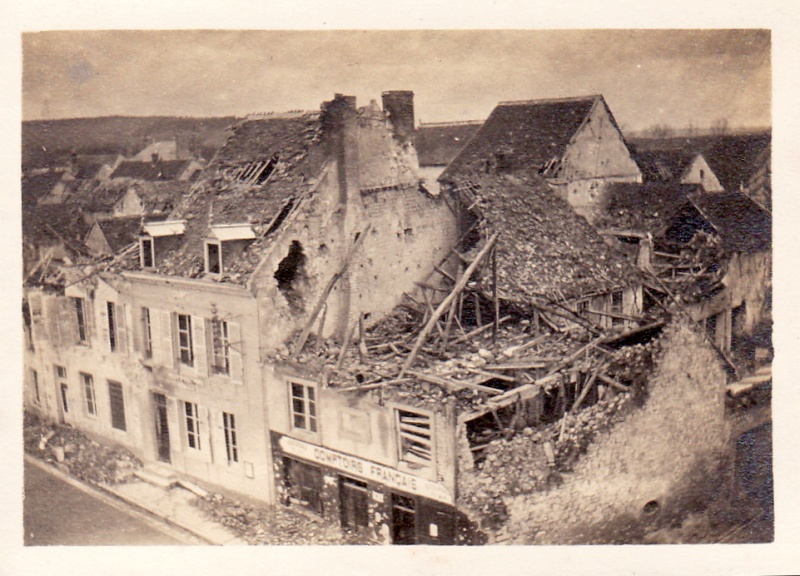 Photos de Cormicy et des environs : le canal, La Neuville et Sapigneul (entre 1914 et 1915) Cormic11