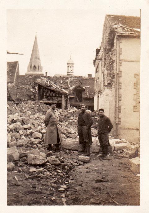 Photos de Cormicy et des environs : le canal, La Neuville et Sapigneul (entre 1914 et 1915) Cormic14