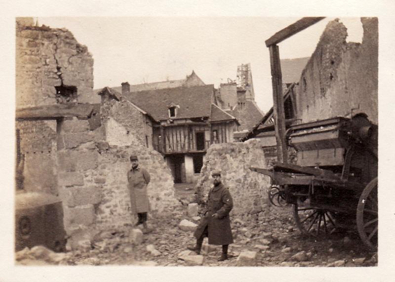 Photos de Cormicy et des environs : le canal, La Neuville et Sapigneul (entre 1914 et 1915) Cormic15