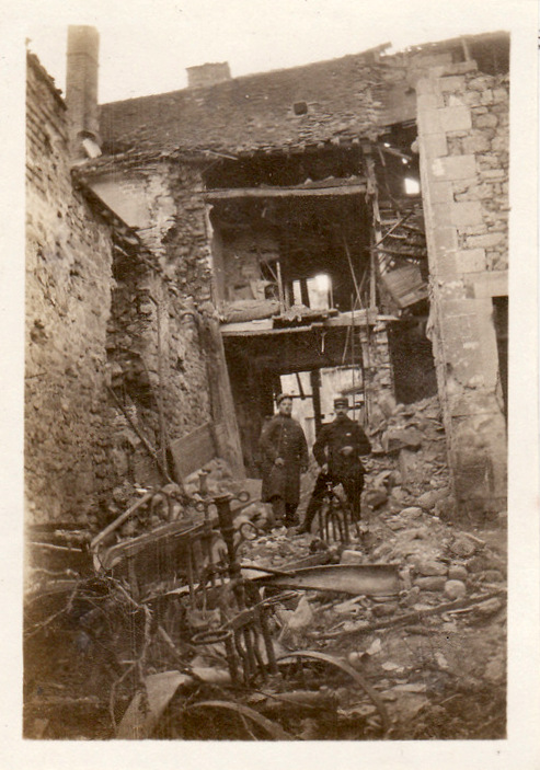 Photos de Cormicy et des environs : le canal, La Neuville et Sapigneul (entre 1914 et 1915) Cormic17