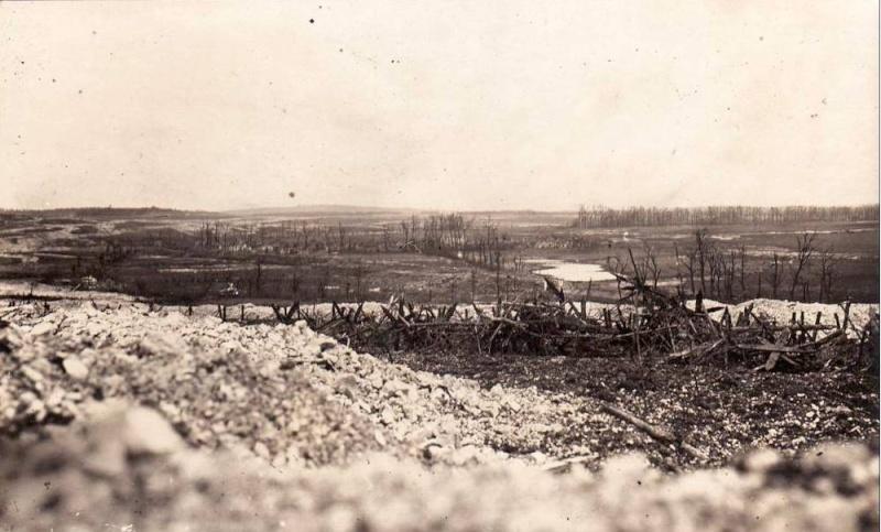 Photos de Cormicy et des environs : le canal, La Neuville et Sapigneul (entre 1914 et 1915) Cote9110