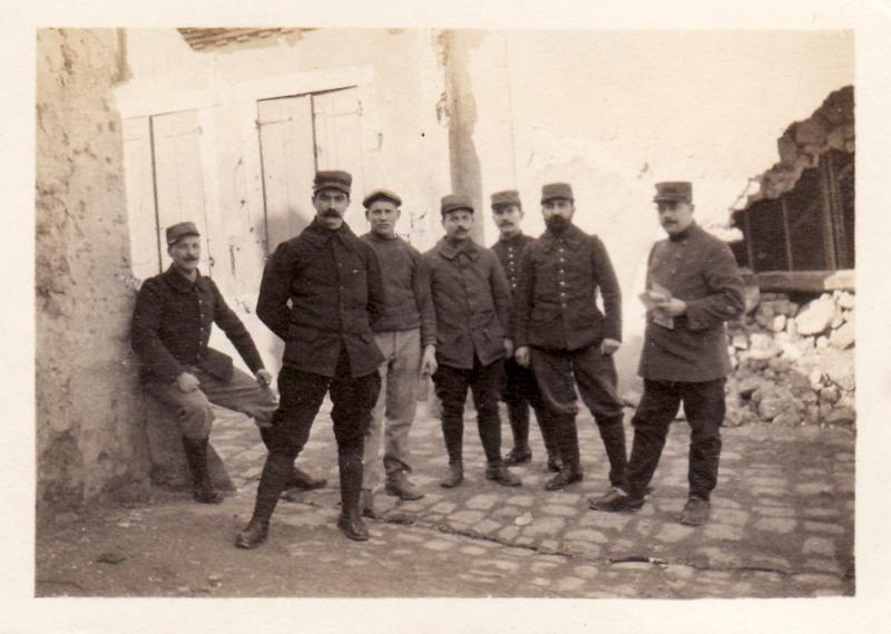 Photos de Cormicy et des environs : le canal, La Neuville et Sapigneul (entre 1914 et 1915) Cyclis10