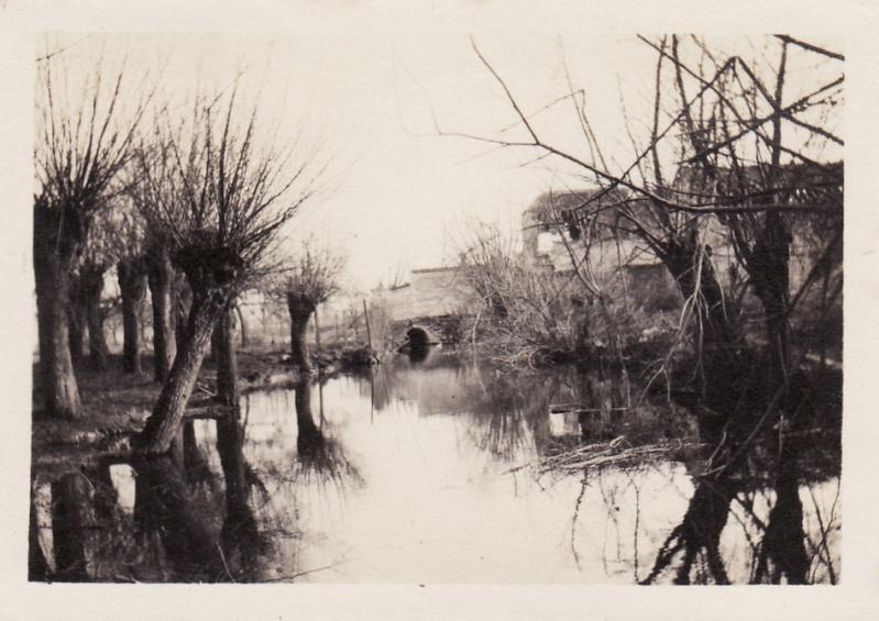 Photos de Cormicy et des environs : le canal, La Neuville et Sapigneul (entre 1914 et 1915) Fermen10