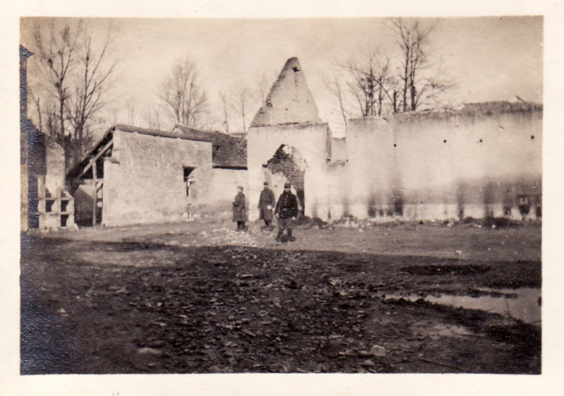 Photos de Cormicy et des environs : le canal, La Neuville et Sapigneul (entre 1914 et 1915) Fermen11