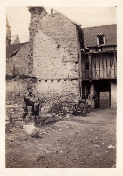 Photos de Cormicy et des environs : le canal, La Neuville et Sapigneul (entre 1914 et 1915) Lecarp11