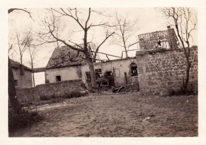 Photos de Cormicy et des environs : le canal, La Neuville et Sapigneul (entre 1914 et 1915) Maison10