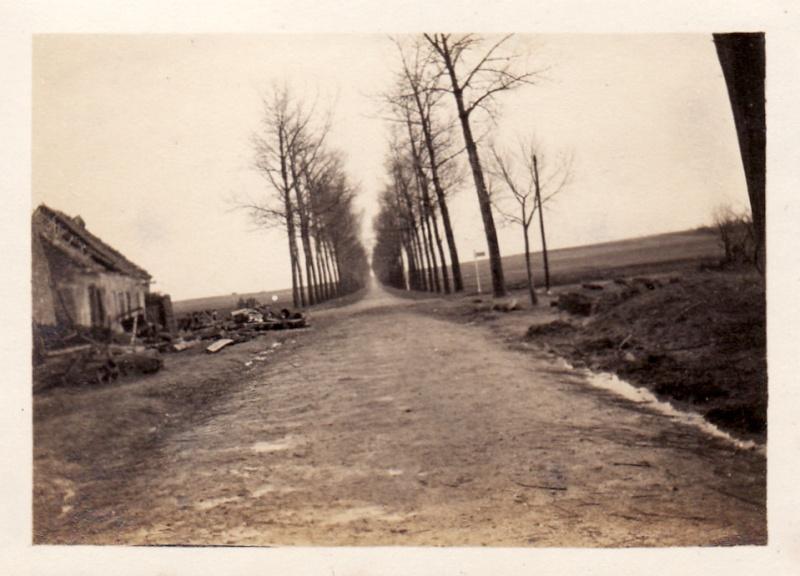 Photos de Cormicy et des environs : le canal, La Neuville et Sapigneul (entre 1914 et 1915) Maison11