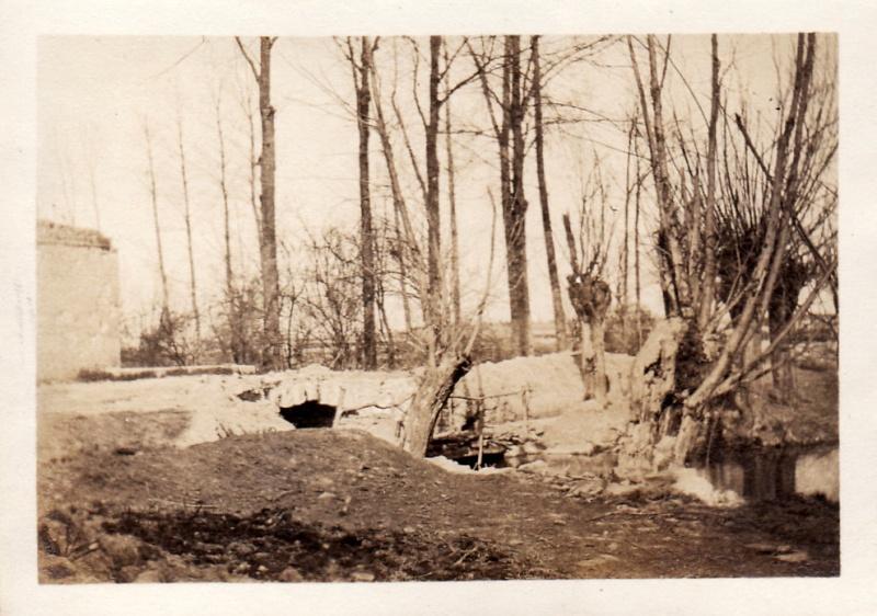 Photos de Cormicy et des environs : le canal, La Neuville et Sapigneul (entre 1914 et 1915) Ruisse12