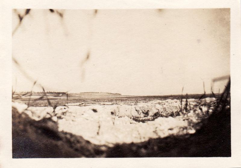 Photos de Cormicy et des environs : le canal, La Neuville et Sapigneul (entre 1914 et 1915) Tranch10