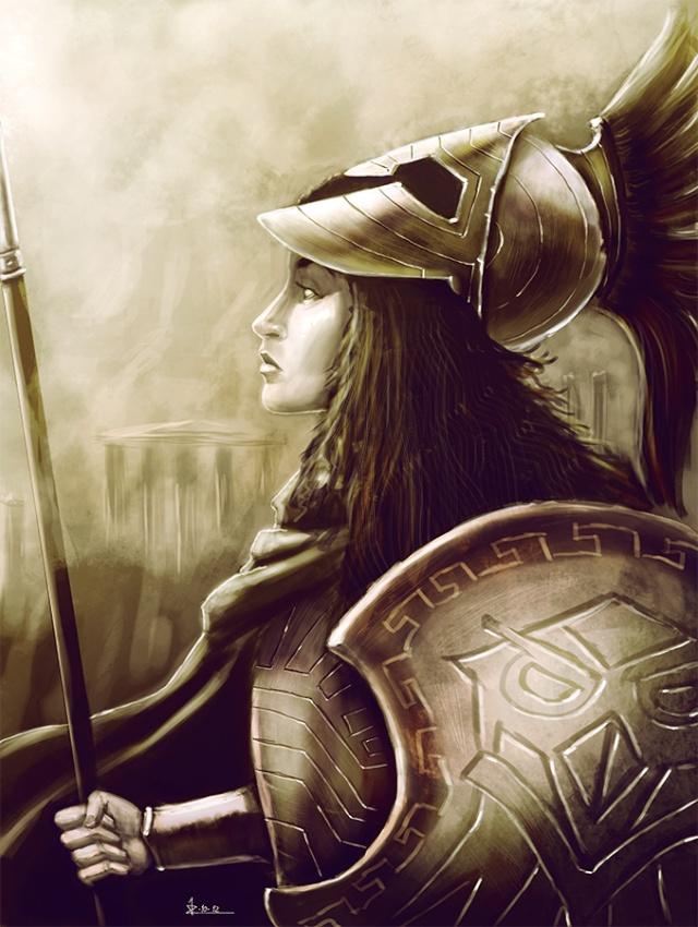 Images des Dieux Athena11