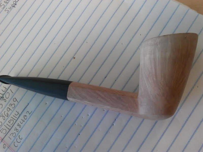 5th pipe , 1st stem cut from rod. Pipe5-11