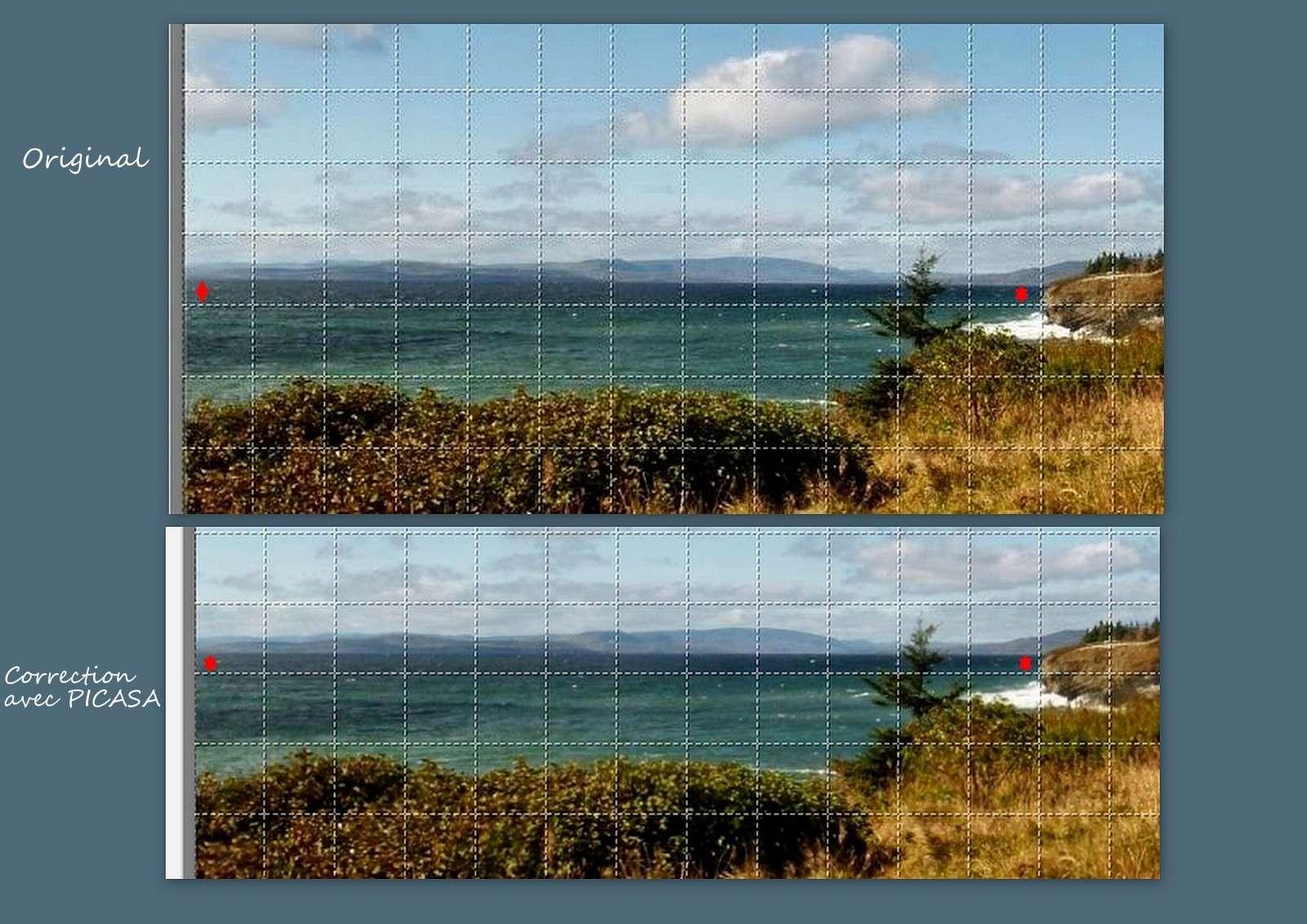 Corriger l'horizon avec PICASA Images17
